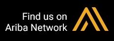 Find us on the Ariba Network Logo
